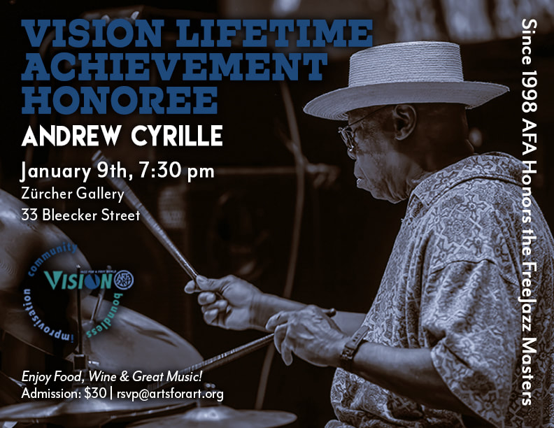 Andrew Cyrille Solo Performance