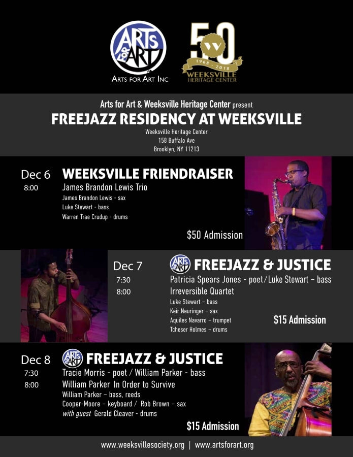 Arts for Art Weeksville FreeJazz