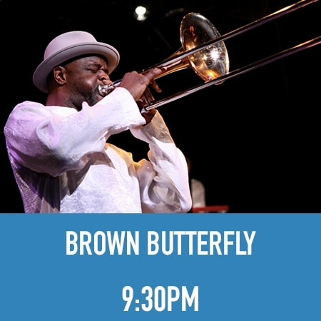 Craig Harris Brown Butterfly